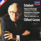 Schubert: Moments Musicaux, Sonata in Bb / Clifford Curzon