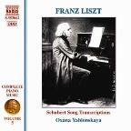 Franz Liszt: Schubert Song Transcriptions
