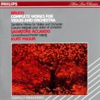 Bruch: Complete Works For Violin And Orchestra