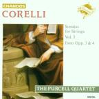 Corelli: Sonatas for Strings Vol 3 / Purcell Quartet