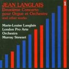 Langlais: Vol 1 - Music for Organ & Orchestra / Langlais