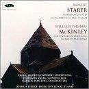 Robert Starer: Samson Agonistes; Concerto for Two Pianos; W.T. McKinley: Lightning; Adagio for Strings