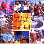 Carnival Sketch Of Trinidad