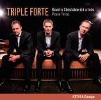 Ravel, Shostakovich, Ives: Piano Trios