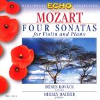 Four Sonatas For Violin & Piano