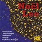 Noël Lee: Caprices on the name Schönberg