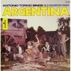 Antonio Tormo Sings Old Favorites from Argentina