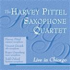 Harvey Pittel Saxophone Quartet Live In Chicago