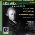 Complete Mozart Divertimentos: Historic First Recorded Edition, CD 2
