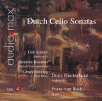 Dutch Cello Sonatas, Vol. 4