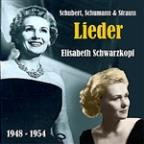 Lieder Of Schubert, Schumann & Strauss, Recordings 1948-1954