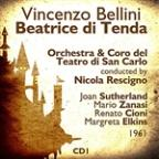 Vincenzo Bellini : Beatrice Di Tenda (1961), Volume 1
