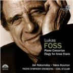 Lukas Foss: Piano Concertos, Elegy For Anne Frank / St Clair