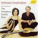 Intimate Inspiration, the very best of the Amadeus Guitar Duo