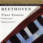 "Beethoven: Piano Sonatas ""Pathetique"" & ""Appassionata"""