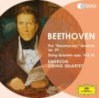 "Beethoven: The ""Razumovsky"" Quartets Op. 59; String Quartets Opp. 74 & 95"