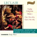 Leclair: Violin Concertos, Vol. 1
