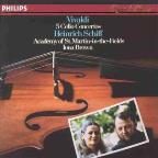 Vivaldi: 5 Cello Concertos/ Heinrich Schiff, Brown, ASMF
