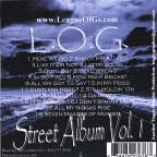 L.O.G Entertainment Vol. 1 - L.O.G Street Album