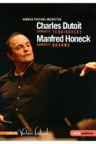 Charles Dutoit conducts Tchaikovsky; Manfred Honeck conducts Brahms
