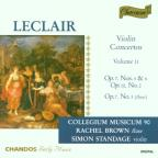 Leclair: Violin Concertos, Vol. 2