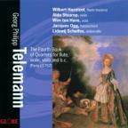 Telemann: Fourth Book Of Quartets / Hazelzet, Stuurop, Et Al