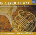 In A Lyrical Way: Music for Horn & Piano by Flemish Masters