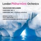 Vaughan Williams: Symphony No. 5; Symphony No. 7 (Sinfonia antartica)