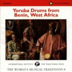 Yoruba Drums from Benin, West Africa