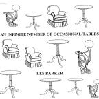 An Infinite Number of Occasional Tables