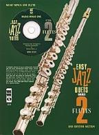 Easy Jazz Duets 2 Flutes And (Minus F