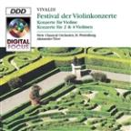 Violin Festival: Concertos by Vivaldi for Violin & Orchestra