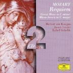 Mozart: Requiem in D minor; Great Mass in C minor; Missa brevis in C major