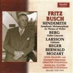 Hindemith: Symphonic Metamorphosis on Themes of Weber; Berg: Violin Concerto; Larsson: Ostinato