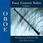 Easy Contest Solos, Vol. 1: Oboe