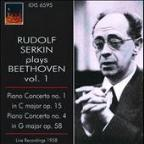 Rudolf Serkin plays Beethoven, Vol. 1