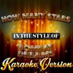 How Many Stars (In The Style Of Bombay Dreams) [karaoke Version] - Single