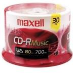 CD-R - 700MB, 30 Pack Spindle