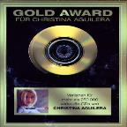 Gold Award: Christina Aguilera