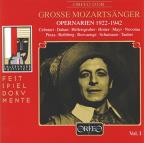 Great Mozart Singers, Vol. 1: Opera Arias 1922 - 1942