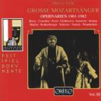 Great Mozart Singers, Vol. 3: Opera Arias 1961 - 1982