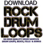 99 Smokin Hot Drum Loops Beats Fills & Sounds