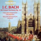 J.C. Bach: Six Grand Overtures, Op. 18