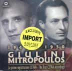 Giulini Mitropoulos - The First Cetra Recordings - 1949-1950