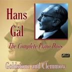 Hans Gal: The Complete Piano Duos