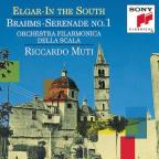 Elgar: In the South;  Brahms: Serenade no 1 / Muti, La Scala