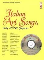 17th/18th Century Italian Songs