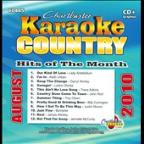 Chartbuster Karaoke: Country Hits Of The Month - August 2010