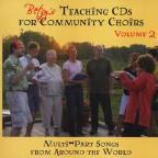 Vol. 2 - Betsy's Teaching CDS For Community Choirs