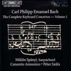C.P.E. Bach: The Complete Keyboard Concertos, Vol. 1